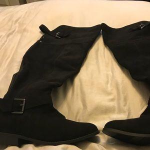 Torrid Suede Boots*New* Wide Calf