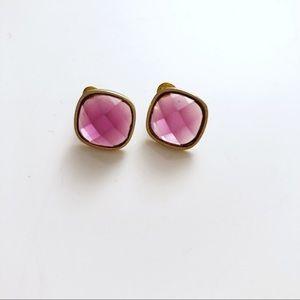 Jewelry - Purple stud earrings