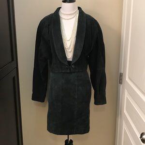 VINTAGE Leather Set