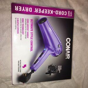 Conair purple blowdryer