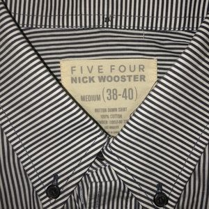Five Four Nick Wooster Long Sleeve Button Down