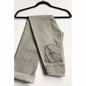 Gap Perfect Boot Gray Jeans