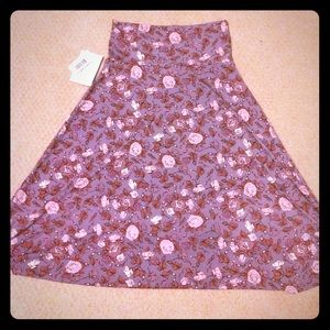 Lularoe XS Azure Skirt