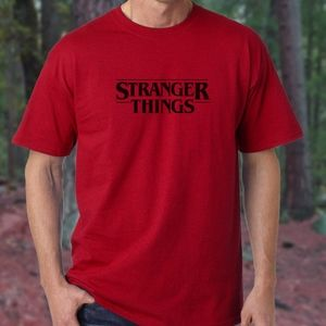 Stranger Things Red T-Shirt with Black logo NEW