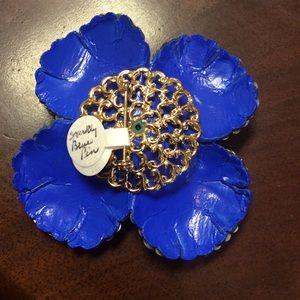 Vintage Jewelry - Rhinestone Flower Power Bonanza Pin