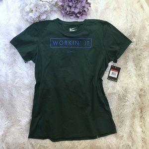 Nike sport v-neck shirt