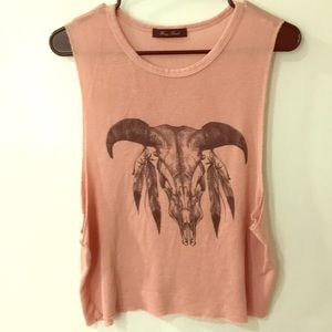 Cow horn Muscle Tee | Small | OFFERS WELCOME!!