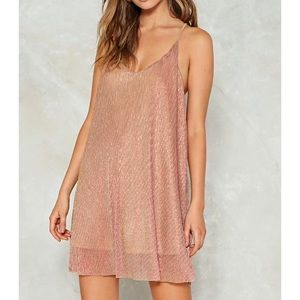 Nasty gal racerback party dress