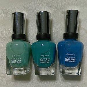 3 Sally Hansen Complete Salon Manicure Nail Polish