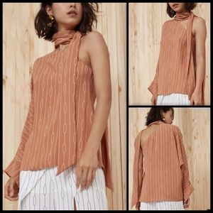 C/MEO ☕️ Everlast One Shoulder Top NWT