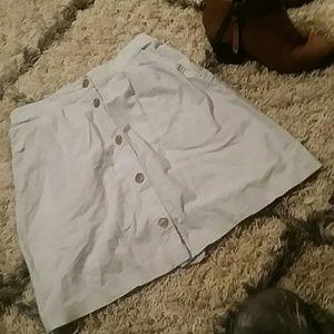 Light Blue Denim Skirt (M)