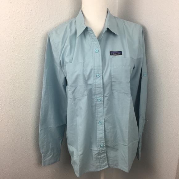 903945b5e7576c Patagonia Tops | Nwt Long Sleeves Anchor Bay Shirt | Poshmark