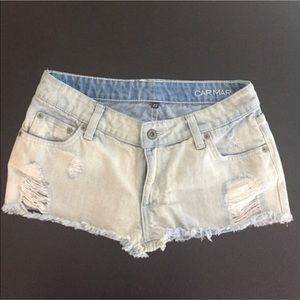 Carmar light denim shorts