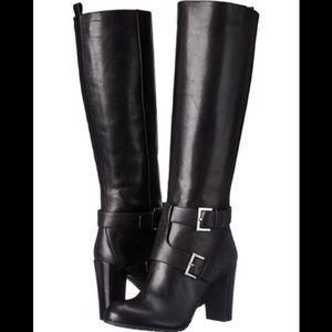 NEW Nine West Women's Skylight Leather Knee High
