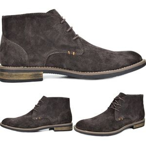 Other - NEW Mens Suede Leather Oxford Lace Up Boots Chukka