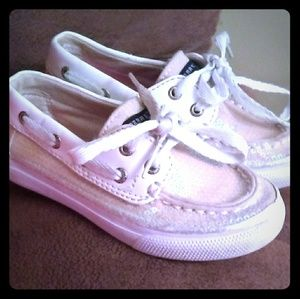 Adorable Glitter Sperry's for tots!