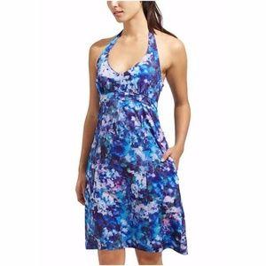 Athleta Protea Pack Everywhere purple halter dress
