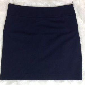 Banana Republic Navy Blue Mini Skirt Size 8