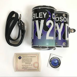 Littlearth LIV2RYD License Plate Cyclone Bag