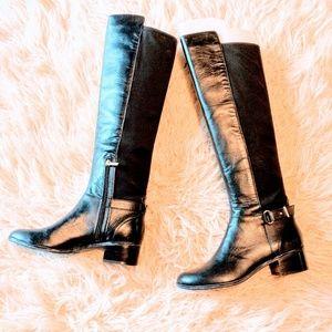 Bandolino Leather/Neoprene Boots