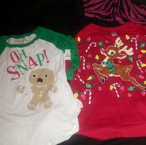 Bundle Deal of Christmas shirts