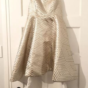 6cc3c1da65d Nordstrom Dresses - LUMIER Gold Silver cocktail semi formal dress