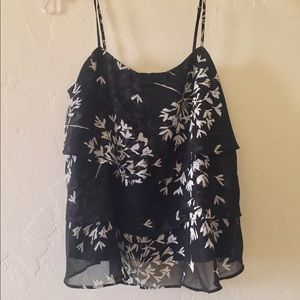 Banana Republic Floral Layered Tank