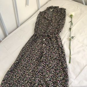 Robbie Bee Long Floral Pattern Dress, size 10🌼