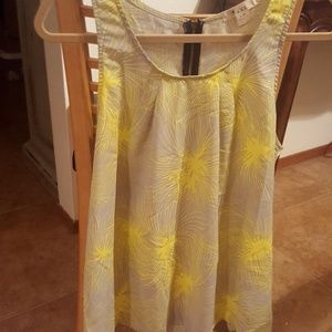 Yellow Starburst Tank from F21