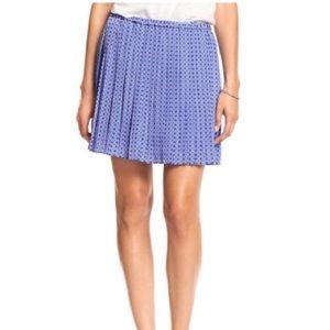 Banana Republic Pleated Mini Skirt