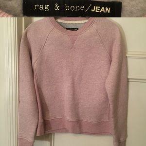 {rag & bone} rose pink pullover