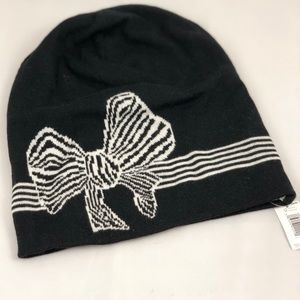 NEW Banana Republic Beanie with Bow detail