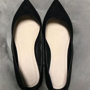 GREAT CONDITION ASOS Flats BLACK SIZE 10 WOMENS