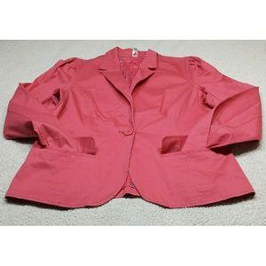 pink Old Navy Blazer size XL