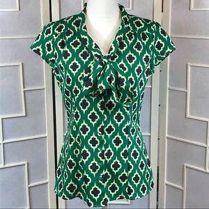 💥 Banana Republic lantern print blouse