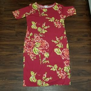 Lularoe Julia Dress, X-large