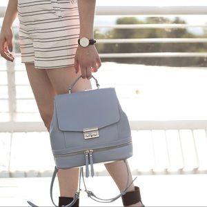 Zara blue backpack