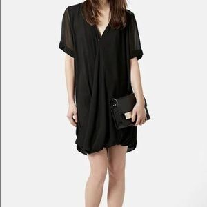 TopShop Drape Front Tunic Dress