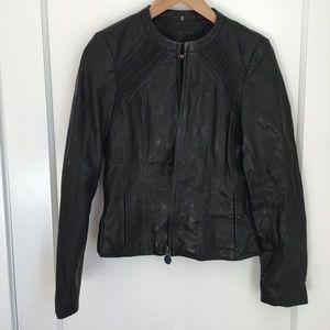 Tahar Classic Cèline Style Leather Jacket