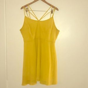 ✨Sexy Yellow Dress F21+✨