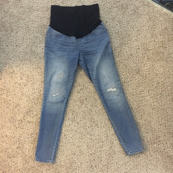 1ed7c15074a06 Liz Lange for Target Denim - Liz Lange for Target Maternity Jegging Jeans  panel