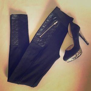 H&M Black Motto Leggings