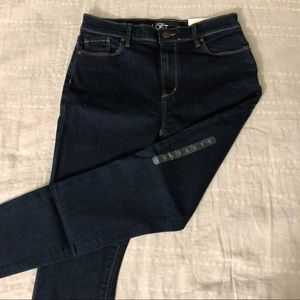 LOFT - High Rise Skinny Ankle Jeans