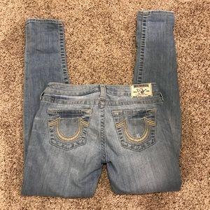 True religion skinny jeans sz 29