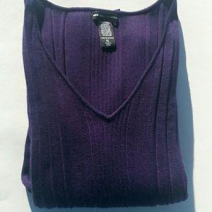 New York & Co deep purple sweater