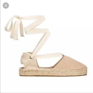Soludos Suede Platform Gladiator Sandal