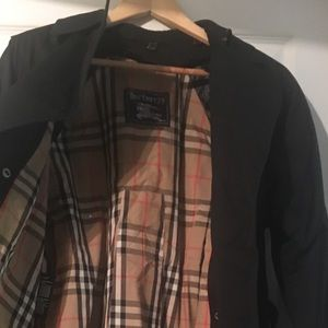 Burberry's trench coat size 8 100% authentic.