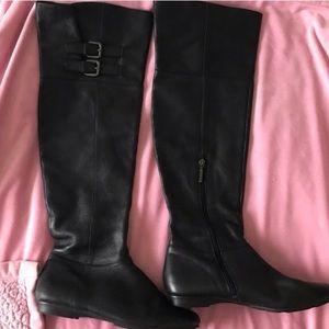 Knee high Calvin Klein boots black