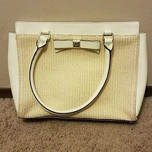 Kate Spade wicker basket purse
