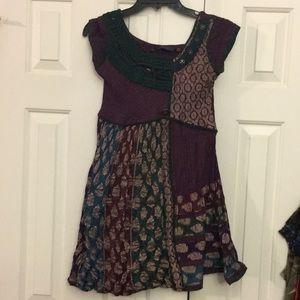 18FIRE Dress/longtop boho gypsy hippie vintage L